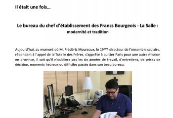 Bureau du directeur des Francs Bourgeois - La Salle